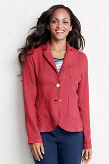 Women's Linen/Cotton Blazer