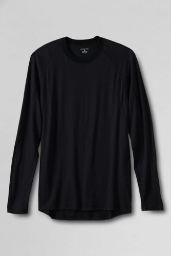 Men's Regular Midweight Merino Crew Neck Base Layer