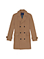 Men's Regular Double-breasted Wool Blend Overcoat