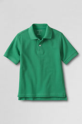 Boys' Short Sleeve Mesh Polo Shirt