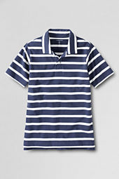 Boys' Short Sleeve Stripe Super T Polo
