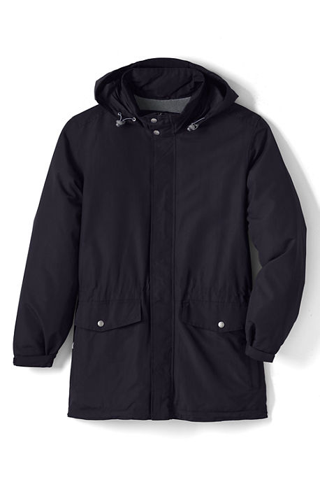 Lands End Mens Lined Outrigger Parka