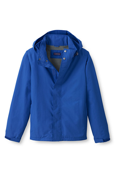 Lands End School Uniform Regular Fleece Mens Jacket