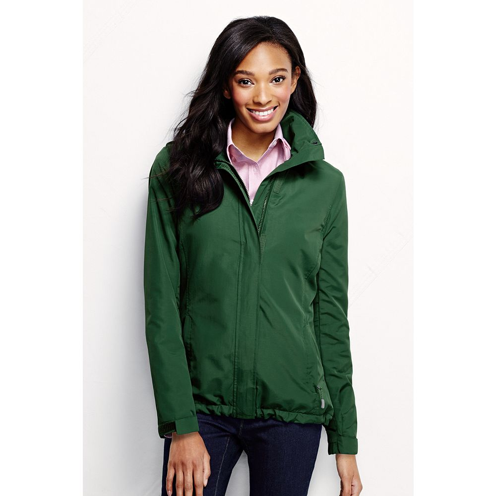 Lands' End Women's Plus Size Fleece Lined Outrigger Jacket at Sears.com
