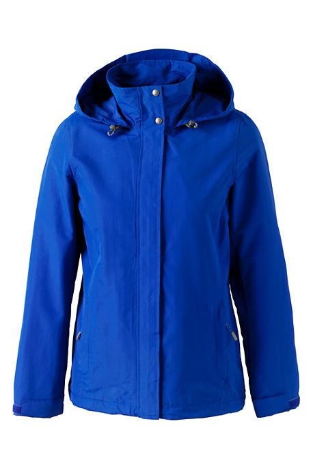 School Uniform Womens Regular Fleece Lined Outrigger Jacket - Rich Red or Cobalt Blue