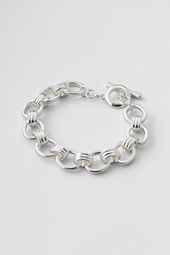 Women's Link and Toggle Bracelet