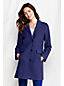 Women's Regular Boiled Wool Blend Car Coat