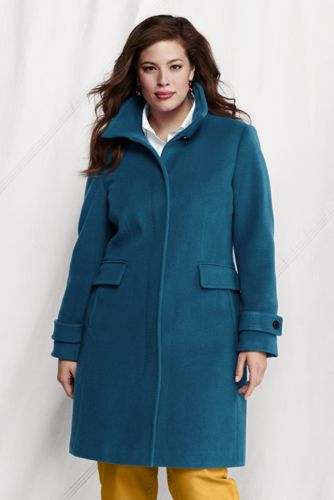 Women's Plus Luxe Wool Walker Coat