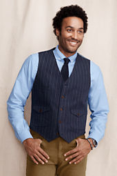 Men's Mourning Stripe Vest
