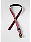Women's Print Calf Hair Skinny Belt
