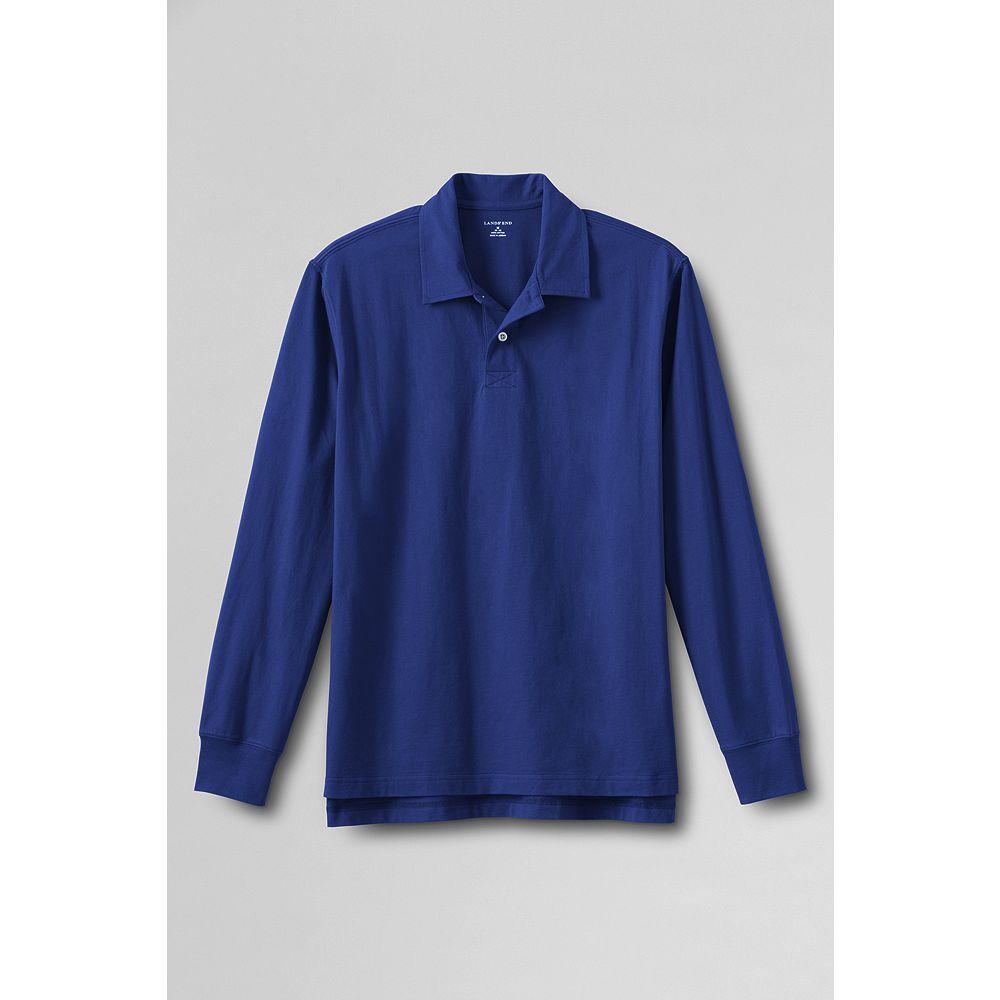 Lands' End Men's Long Sleeve Super-T Polo Shirt at Sears.com