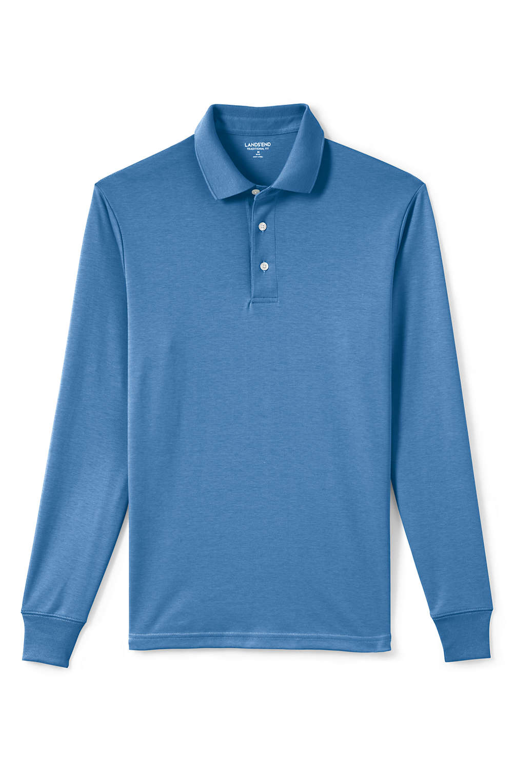 Mens Supima Polo Shirt From Lands End