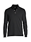 Men's Regular Traditional Fit Supima® Polo - Long Sleeve