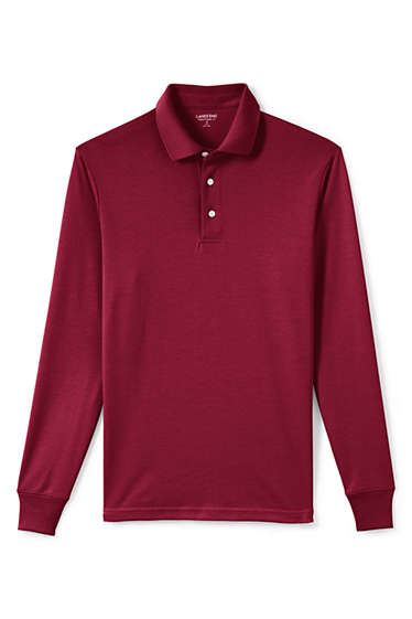 871cb7539e9 Men's Big & Tall Supima Polo Shirt from Lands' End