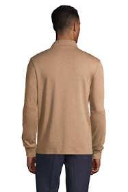 Men's Long Sleeve Super Soft Supima Polo Shirt