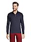 Polo Coton Supima Interlock Uni Manches Longues, Homme Stature Standard