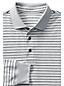 Men's Regular Long Sleeve Stripe Supima® Polo