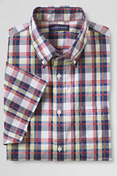 Men's Short Sleeve Supima Poplin Shirt