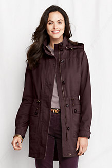 Women's Transitional Cotton Long Parka