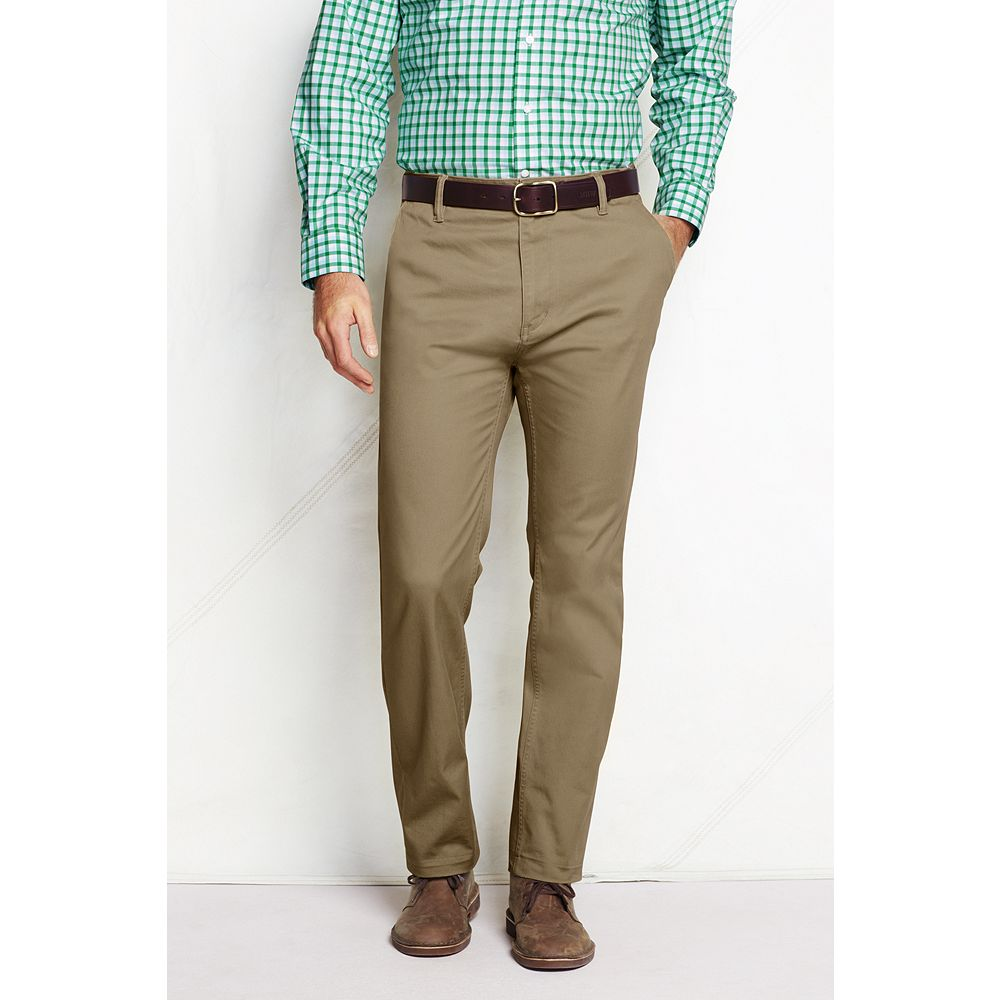 Lands' End Men's Straight Fit Hybrid Chino Pants at Sears.com