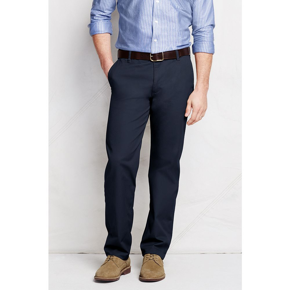 Lands' End Men's Traditional Fit Hybrid Chino Pants at Sears.com