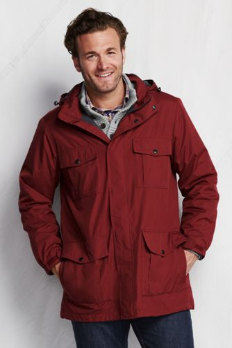 Men's Regular Fleece-lined Windbreaker