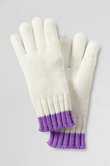 Girls' Tipped Gloves