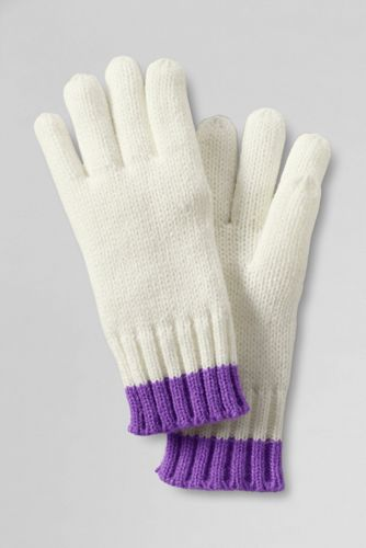 Girls' Tipped Gloves