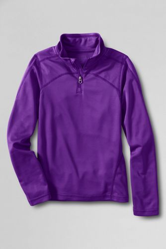 Little Girls' Thermskin Heat Half Zip Top