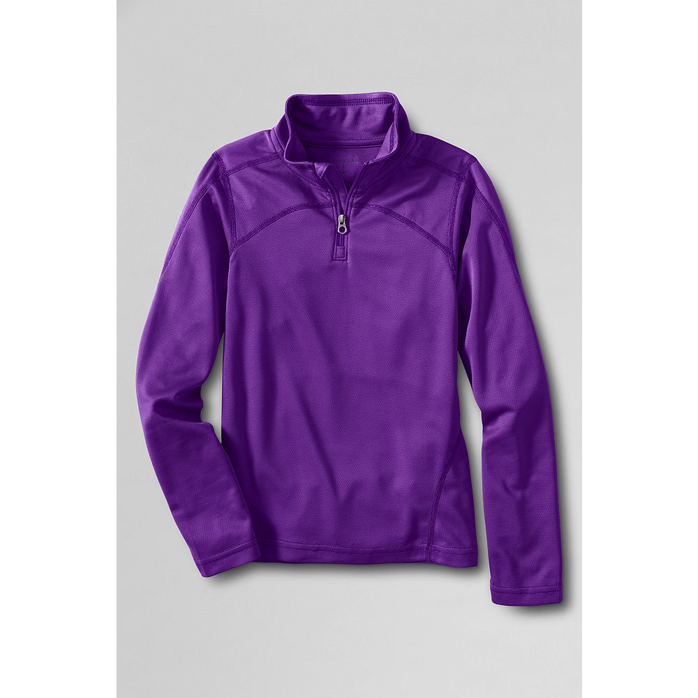 Lands' End Girls' Thermaskin Half-zip Top at Sears.com