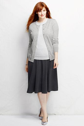 e082e9abe8519 Women s Plus Size Sport Knit Skirt - Dark Charcoal Heather
