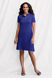 Women's Short Sleeve Pima Polo Dress