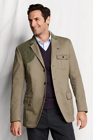 Soft Hunting Jacket 432646: Khaki