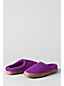 Women's Quilted Fleece Clog Slippers