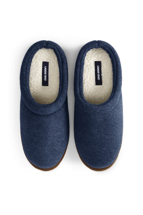 Men's Fleece Clog Slippers