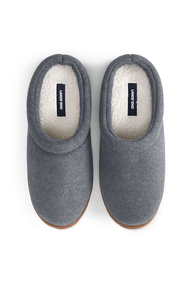 Men's Christmas Fleece Clog House Slippers, alternative image