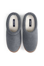Men's Christmas Fleece Clog House Slippers