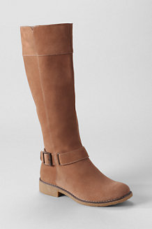 Women's Suede Knee-high Boots