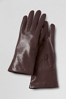 Women's EZ Touch Luxe Leather Gloves