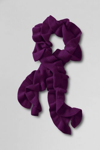 Women's Petal Knit Scarf