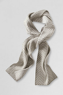 Women's Herringbone Scarf