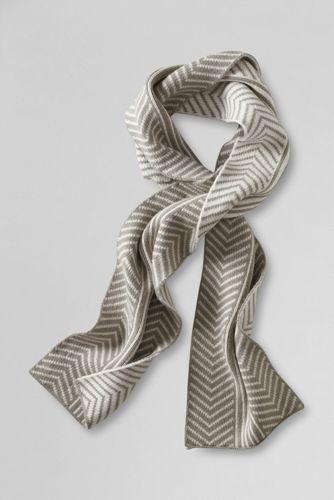 Softer Schal im Fischgrät-Muster für Damen
