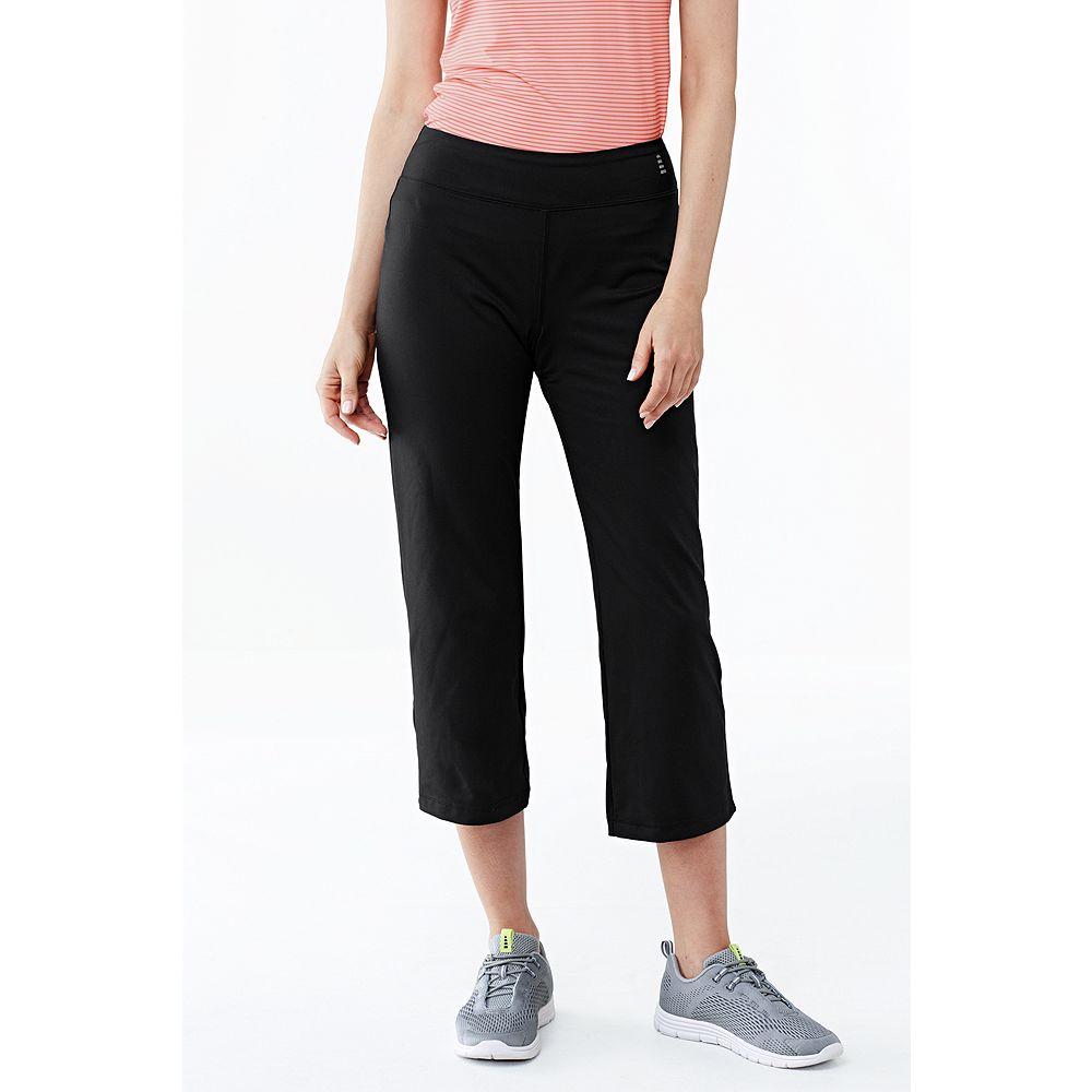 Lands' End Women Tall Activewear Sport Crop Pants at Sears.com