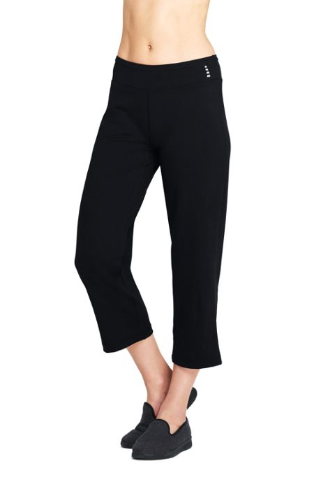 Women's Petite Active Capri Yoga Pants