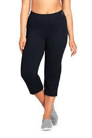 Women's Plus Size Active Capri Yoga Pants