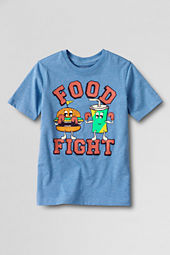 Boys' Short Sleeve Food Fight Graphic T-shirt