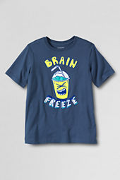 Boys' Short Sleeve Brain Freeze Graphic T-shirt