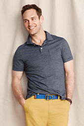 Men's Vintage Jersey Pocket Polo