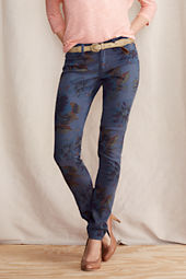Women's Super Skinny Patterned Pants