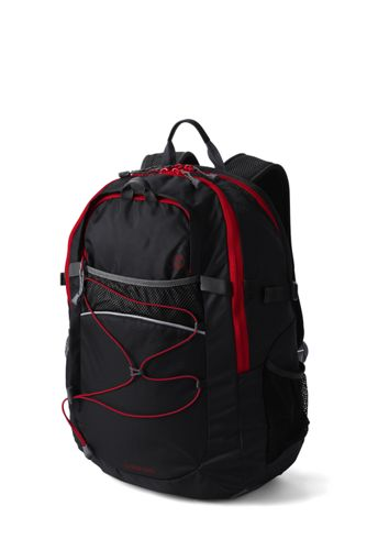 Solid FeatherLight  Large Backpack - Black